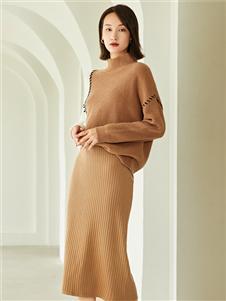 曼秀繽紛新款時尚針織衫