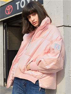 2021曈行秋冬粉色面包服