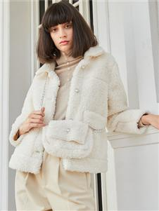2021曈行秋冬毛绒外套