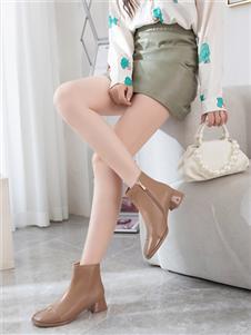 圣恩熙冬季新款纯色女鞋