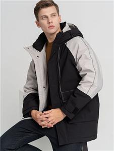 2021喬治邦尼冬裝時尚羽絨服