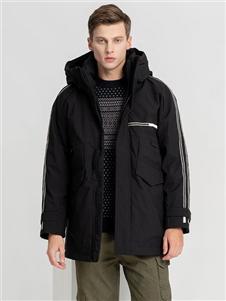2021喬治邦尼冬裝休閑厚外套