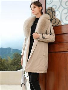 2021禹妃冬装新款羽绒服
