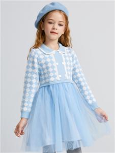 Deesha笛莎新款針織連衣裙