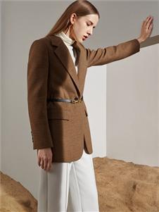 2021沙与沫冬装西装外套