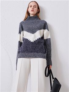 2021沙与沫冬装新款毛衣
