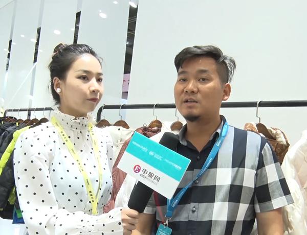 专访上海歌羽服饰有限公司总经理 唐铁成